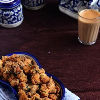 Cashew pakoda recipe | Easy snack recipes