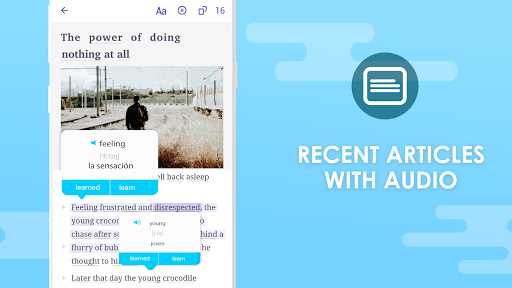 EWA: Learn English & Spanish Language screenshot 3