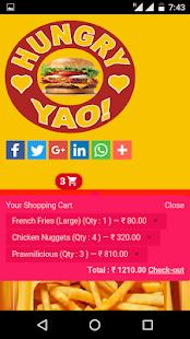 HungryYao(Night food delivery) screenshot
