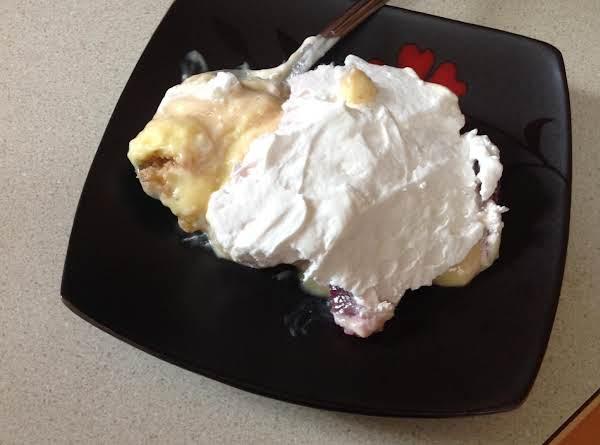 Jen's Banana Stawberry Dessert