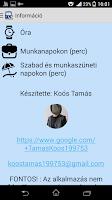 Screenshot of Buszmenetrend Székesfehérvár