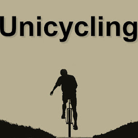 Unicycling by Justus Böttcher - Logos All Logos