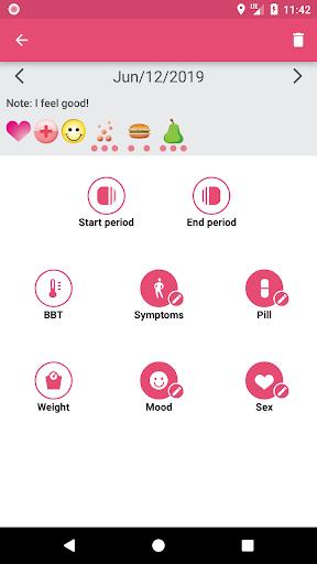 WomanLog Calendar  screenshot 3