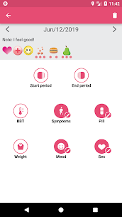 WomanLog Period Tracker & Calendar PRO APK (Patched) 3
