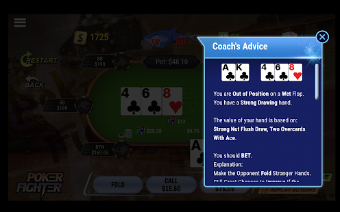 Poker Fighter - Free Poker Trainer- screenshot thumbnail