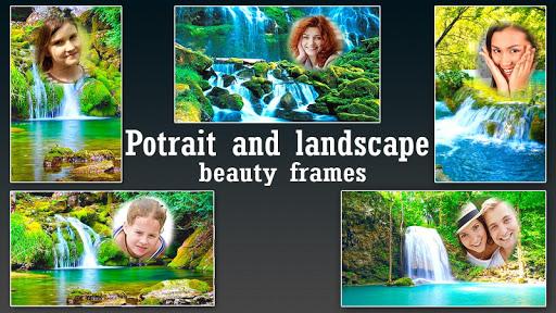 Photo Frames Waterfall