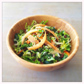 Green Lentil Salad with Spiced Carrots Recipe