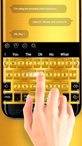 Gold Keyboard 10001039 2