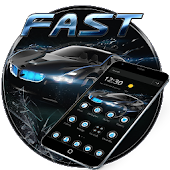 Tải Black Speedy Car Theme for bmw APK