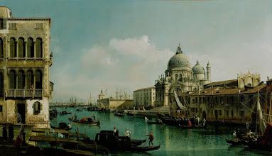 """Photo: Bernardo Bellotto, """"Veduta del Canal Grande e della Dogana"""" (1743)"""