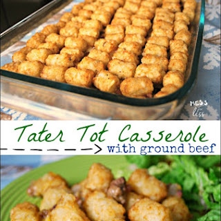 Ground Beef Tater Tot Casserole Cheese Recipes.