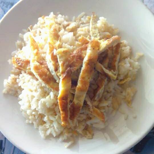 Nasi Goreng bujang dengan Magic Potion