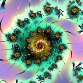 Spiral 78 by Cassy 67 - Illustration Abstract & Patterns