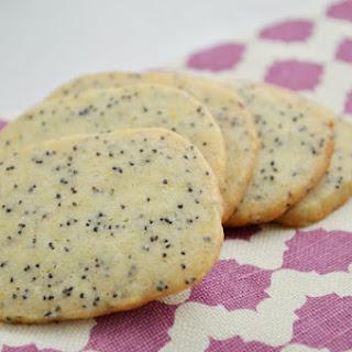 Slice and Bake Lemon Poppy Seed Cookies.