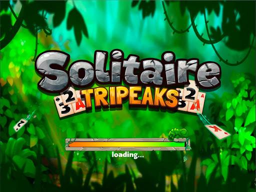 Solitaire Tripeaks - Lost Worlds Adventure 3.5 screenshots 11