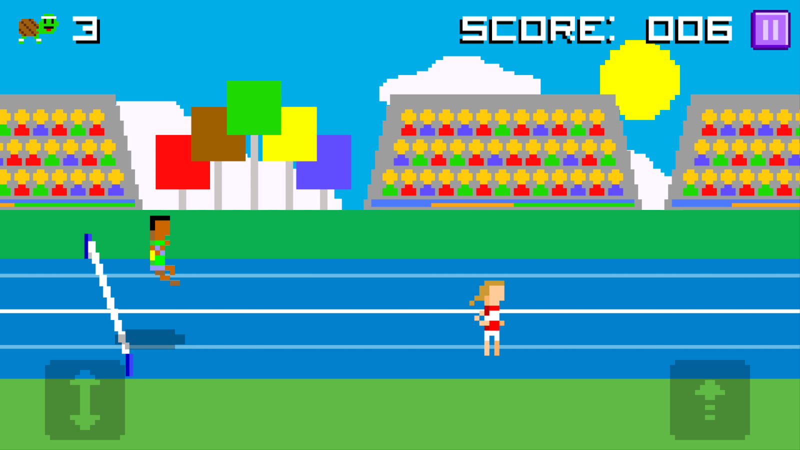 Hurdle Turtle Forever- screenshot