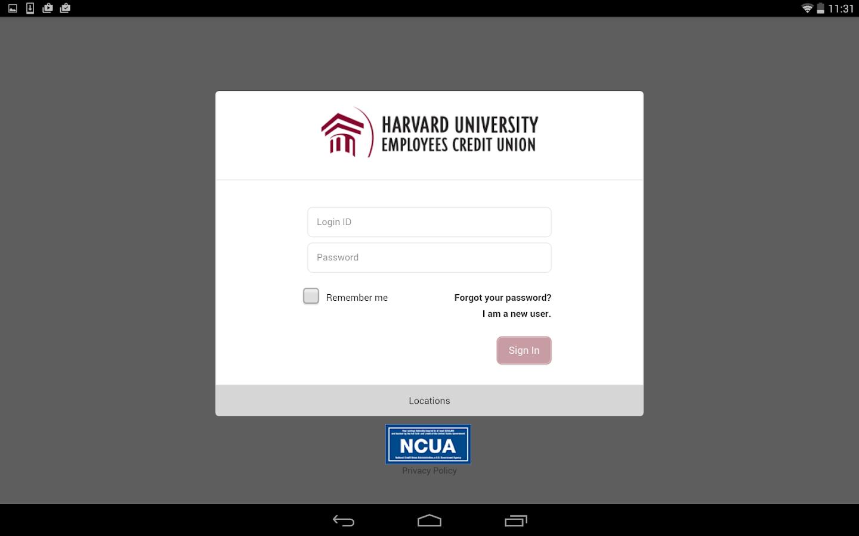 HUECU Mobile Banking - screenshot
