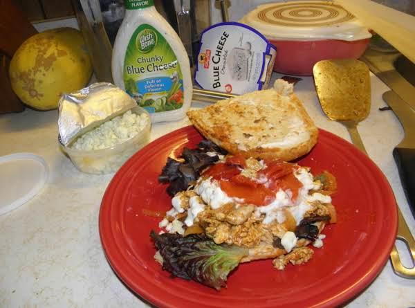 Philia Style Bufflo Blue Chicken Cheese Steak Recipe