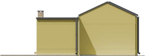 G192 - Budynek rekreacyjny - Elewacja tylna