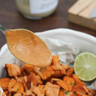 Mexican Sweet Potatoes w/ 5 Minute Mexican Tahini Sauce