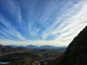 Photo: A view from the top at the end of the day.
