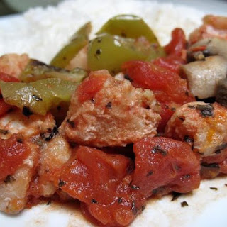 Haddock And Tomato Stew.