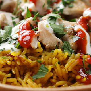 1. Chicken and Rice (NYC Street Cart Style)