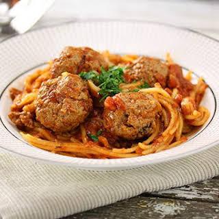 Slow Cooker Spaghetti Meatballs.