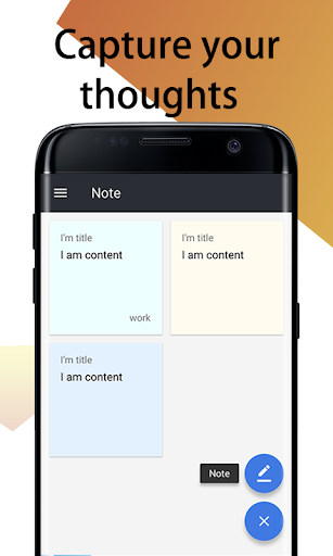 Download Color Note Pad u2013 noted for lock screen notes MOD APK 3