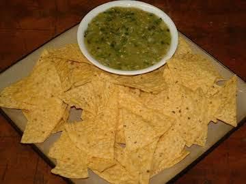 Spring Hill Ranch's Salsa Verde