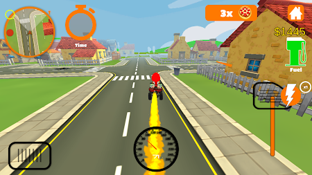 Racing Pizza Delivery Baby Boy 1.0 screenshot 11213