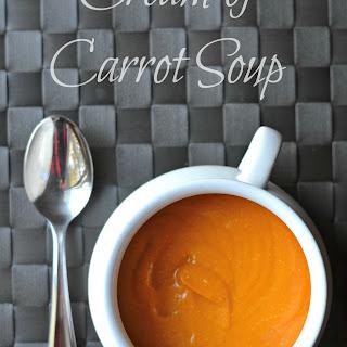 Cream of Carrot Soup Recipe