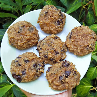 4-Ingredient Banana Peanut Butter Chocolate Chip Cookies.