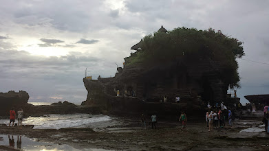 Photo: Hindu Temple carved into the rock. Amazing.