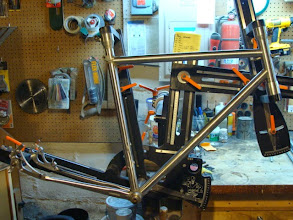 Photo: Main tubes are all mitered and dry fit.