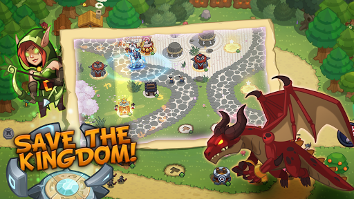 Realm Defense: Epic Tower Defense Strategy Game screenshot 1