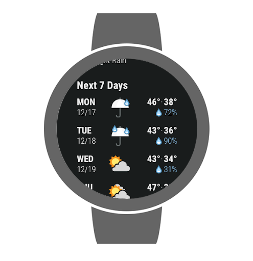 Dark Sky - Hyperlocal Weather screenshot 15