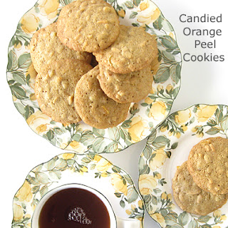 Candied Orange Peel Cookies Recipes.