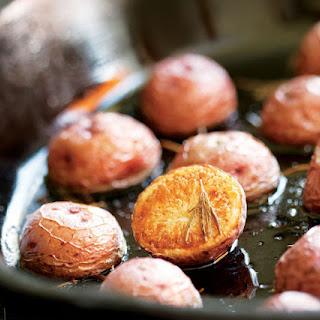 Skillet-Roasted Rosemary Potatoes