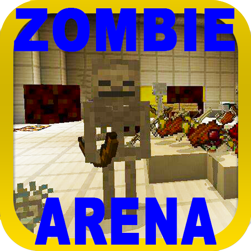 PVP ZombieArena map for MCPE 1.3.15