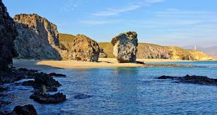 La playa de Los Muertos, en Carboneras, es quizás una de las más conocidas.
