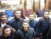 Les joueurs grecs de Belgique se sont vite trouvés!