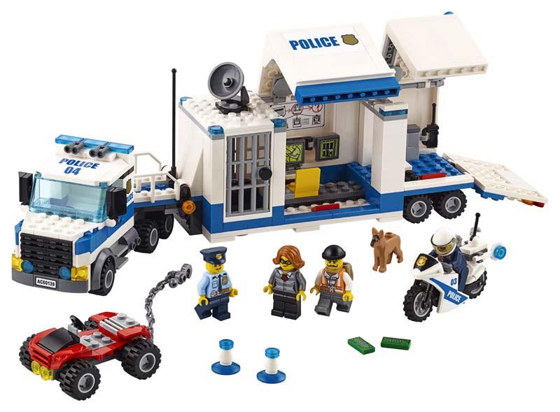 Contenido de Lego® 60139 Centro de Control Móvil