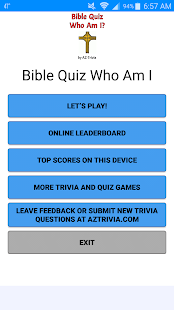 Bible Quiz - Who Am I? - náhled