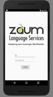 ZAUM App - náhled