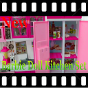 Barbie Doll Kitchen Set Toys Videos APK