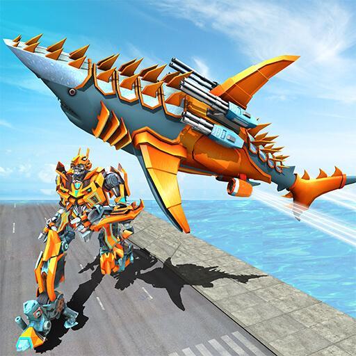 Transforming Robot Shark – Robot transformation