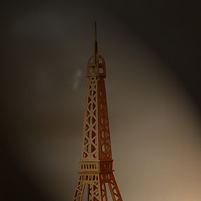 EIFFLE TOWER PUZZLE by Bambang Charli - Buildings & Architecture Other Exteriors