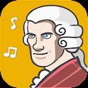 Wolfgang Amadeus Mozart Music icon