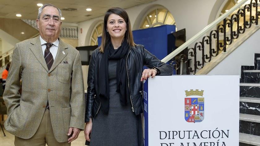 Reunión entre Martínez y Balcázar en Diputación.